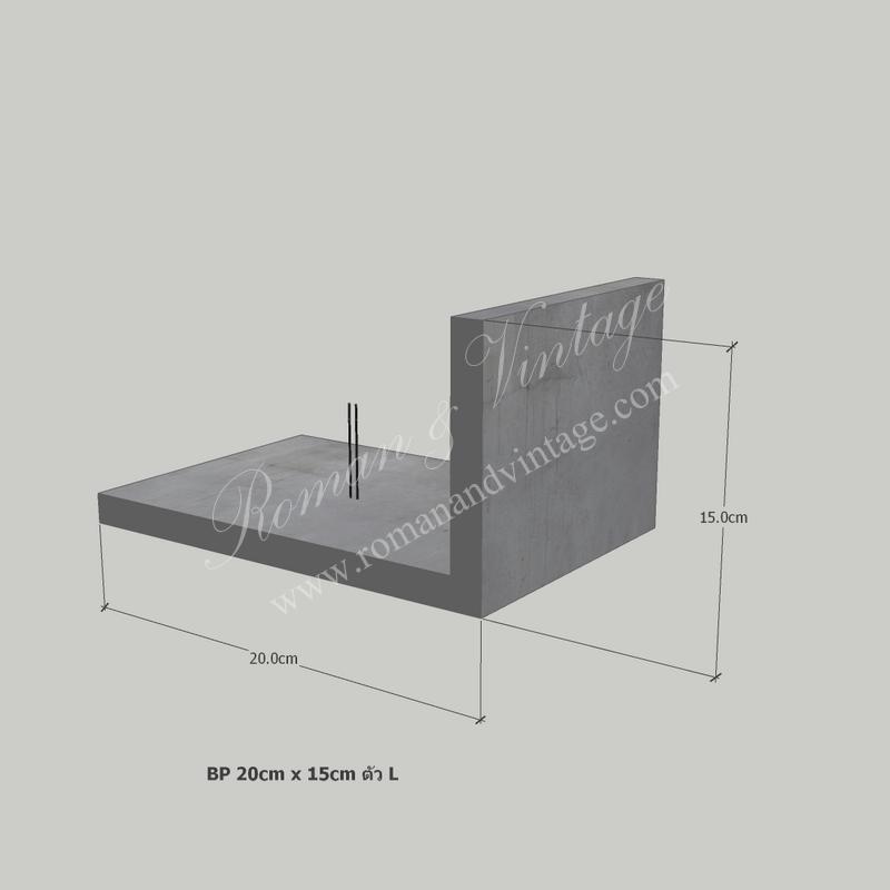 บัวปูนปั้น แบบโมเดิร์น บัวปูนปั้น แบบโมเดิร์น                                             BP 20cm x 15cm           L