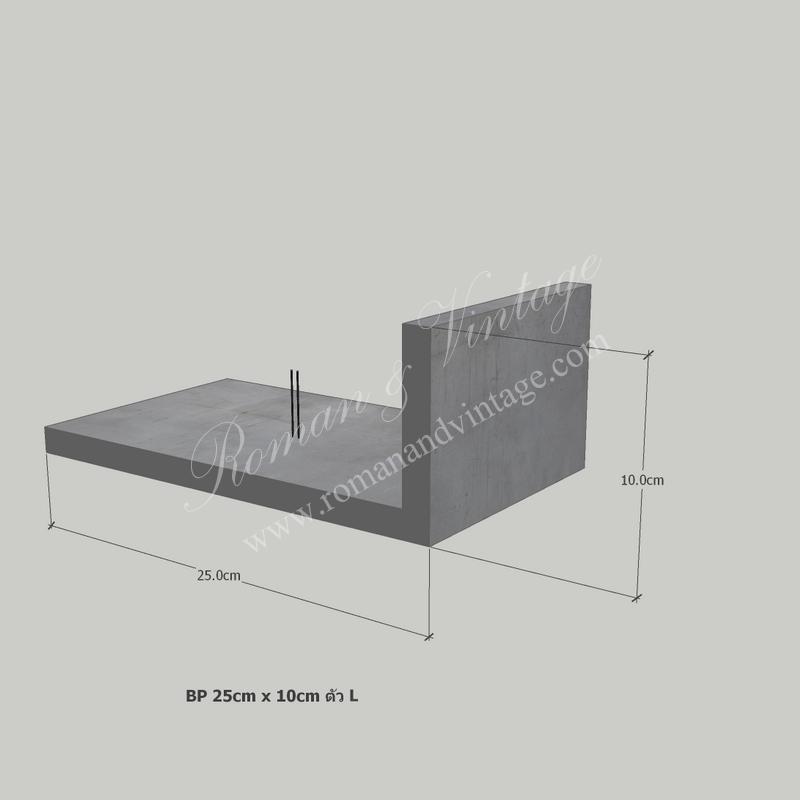บัวปูนปั้น แบบโมเดิร์น บัวปูนปั้น แบบโมเดิร์น                                             BP 25cm x 10cm           L