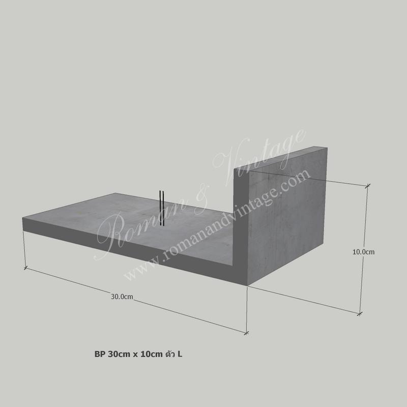 บัวปูนปั้น แบบโมเดิร์น บัวปูนปั้น แบบโมเดิร์น                                             BP 30cm x 10cm           L