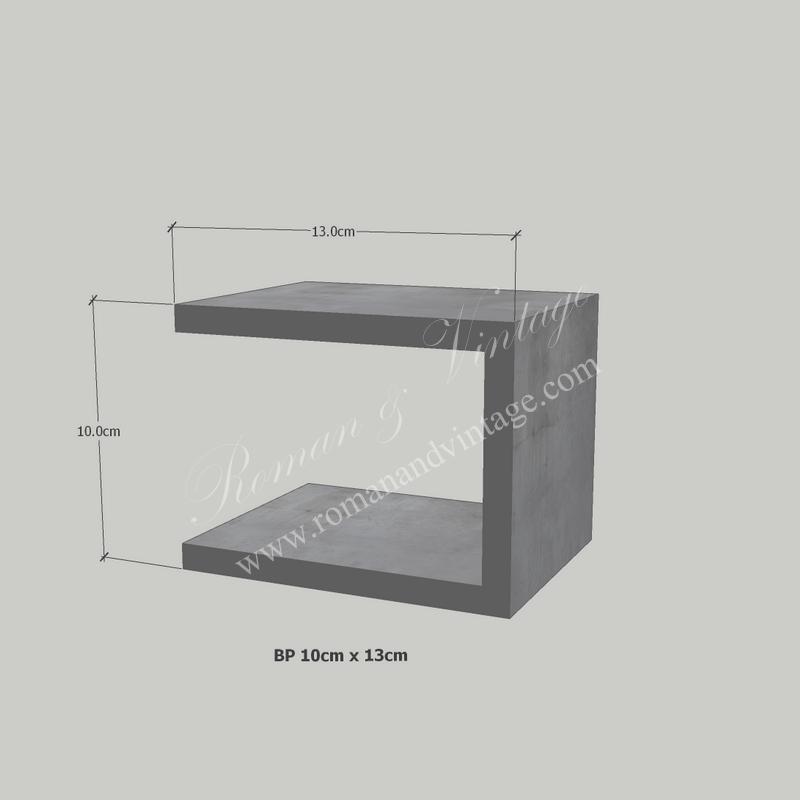 บัวปูนปั้น แบบโมเดิร์น บัวปูนปั้น แบบโมเดิร์น                    BP 10cm x 13cm