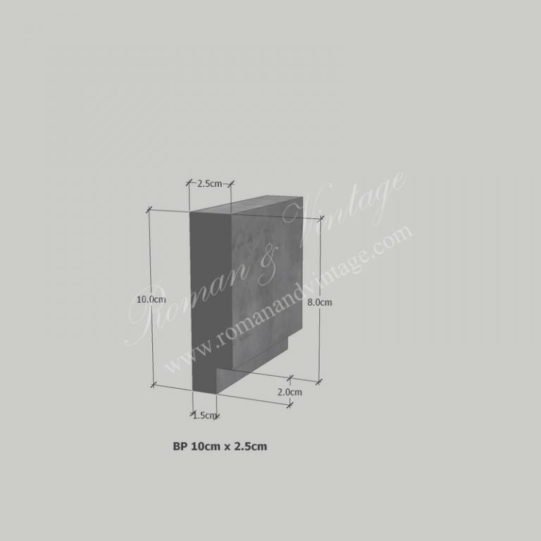 บัวปูนปั้น แบบโมเดิร์น บัวปูนปั้น แบบโมเดิร์น                    BP 10cm x 2