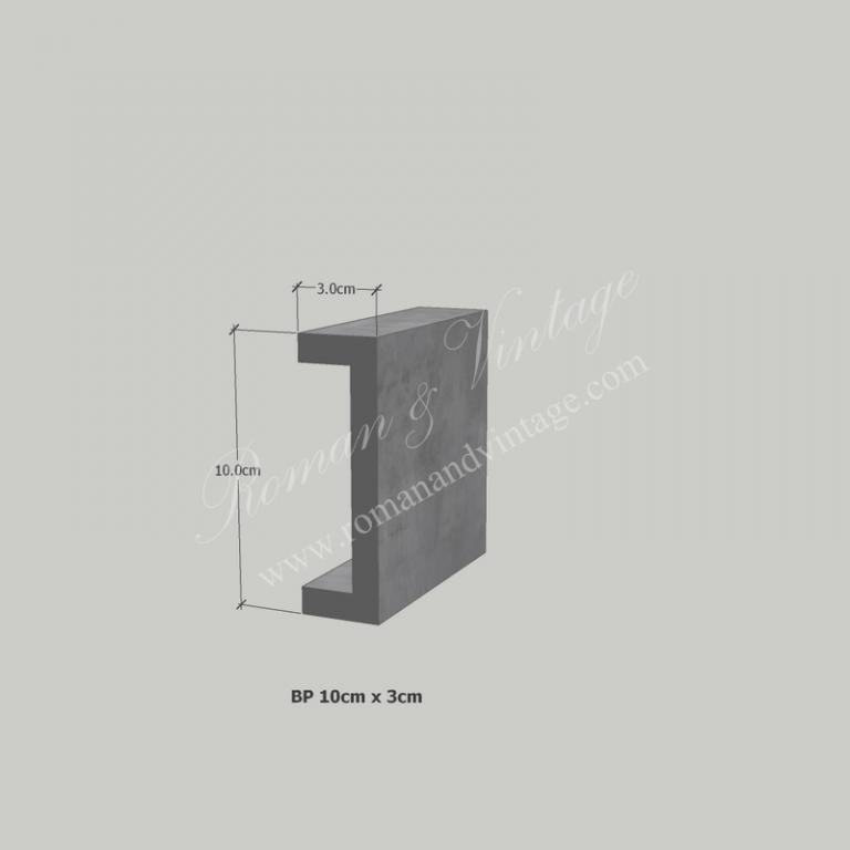 บัวปูนปั้น แบบโมเดิร์น บัวปูนปั้น แบบโมเดิร์น                    BP 10cm x 3cm 768x768