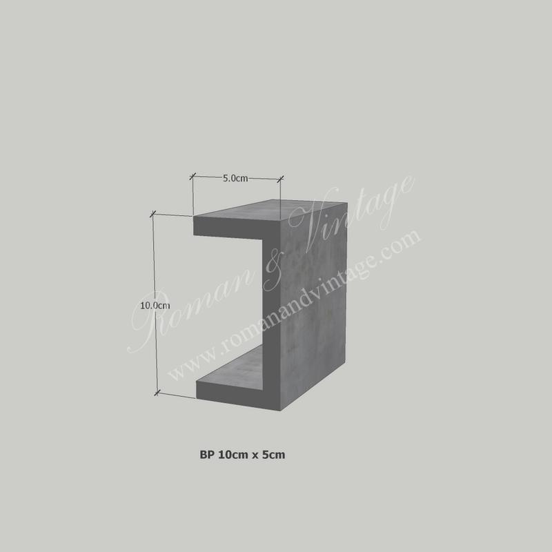 บัวปูนปั้น แบบโมเดิร์น บัวปูนปั้น แบบโมเดิร์น                    BP 10cm x 5cm           2