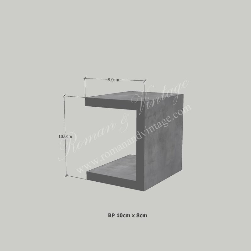 บัวปูนปั้น แบบโมเดิร์น บัวปูนปั้น แบบโมเดิร์น                    BP 10cm x 8cm