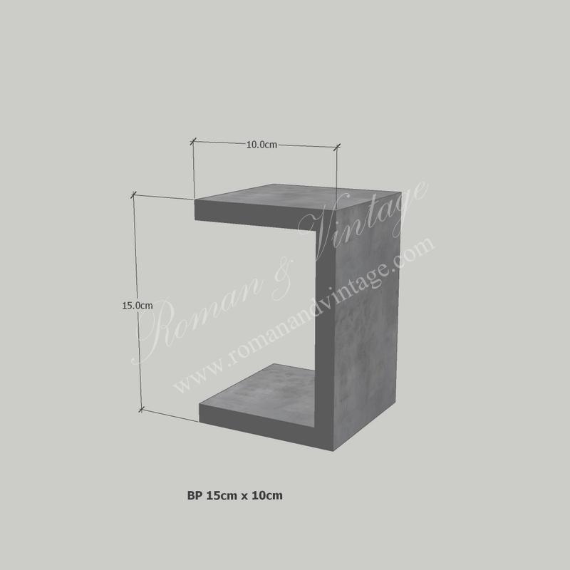 บัวปูนปั้น แบบโมเดิร์น บัวปูนปั้น แบบโมเดิร์น                    BP 15cm x 10cm