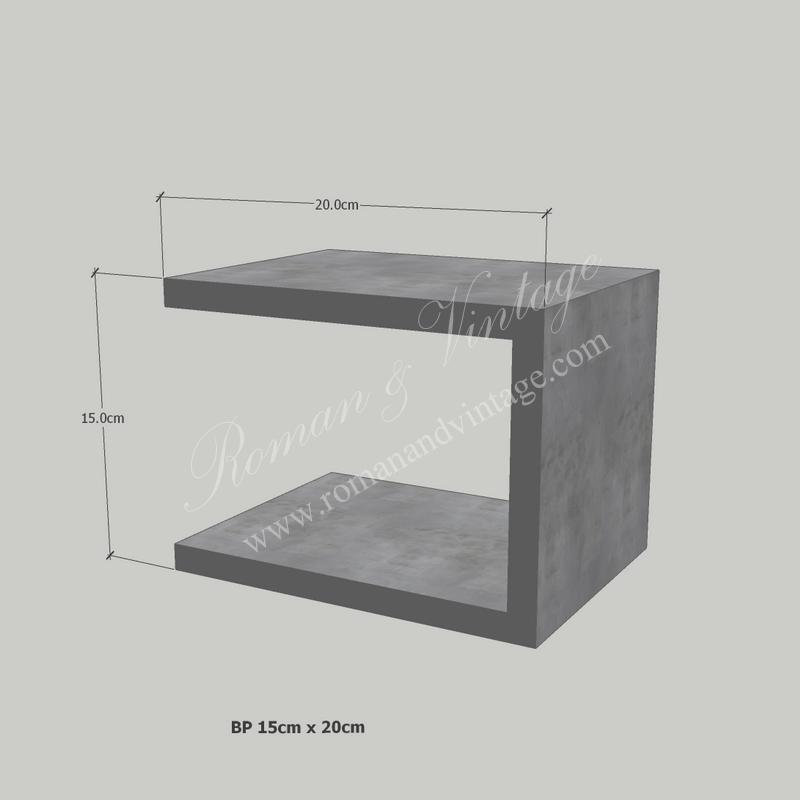 บัวปูนปั้น แบบโมเดิร์น บัวปูนปั้น แบบโมเดิร์น                    BP 15cm x 20cm