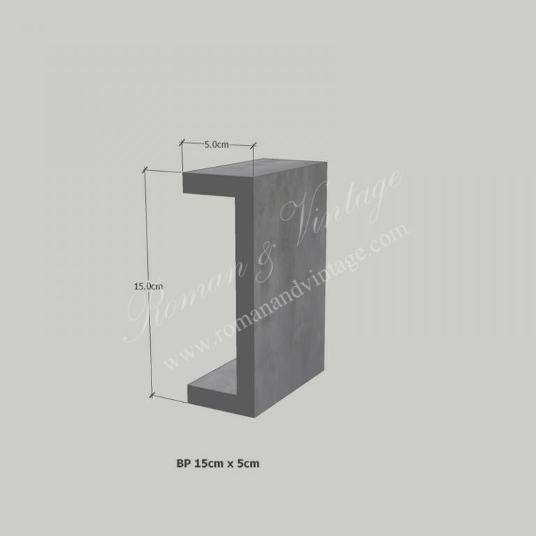 บัวปูนปั้น แบบโมเดิร์น บัวปูนปั้น แบบโมเดิร์น                    BP 15cm x 5cm 768x768