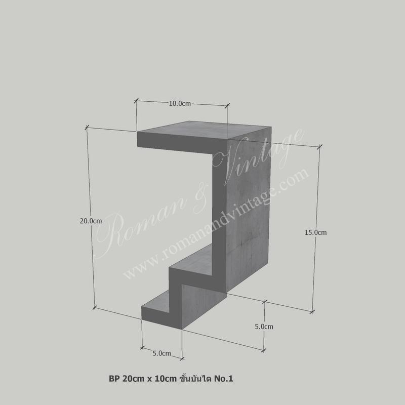 บัวปูนปั้น แบบโมเดิร์น บัวปูนปั้น แบบโมเดิร์น                    BP 20cm x 10cm                             No