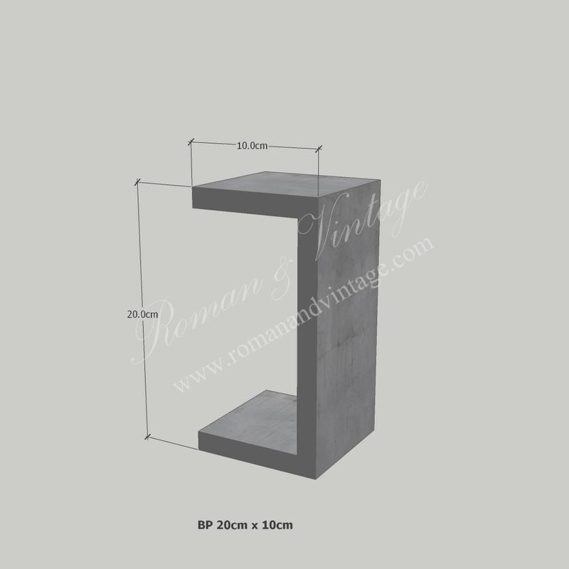 บัวปูนปั้น แบบโมเดิร์น บัวปูนปั้น แบบโมเดิร์น                    BP 20cm x 10cm