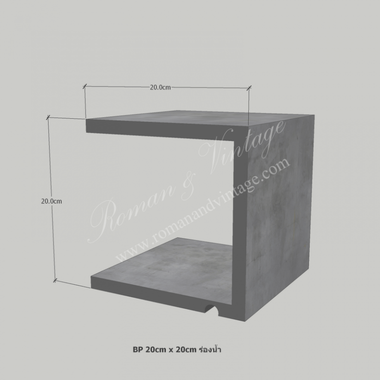 บัวปูนปั้น แบบโมเดิร์น บัวปูนปั้น แบบโมเดิร์น                    BP 20cm x 20cm                       768x768