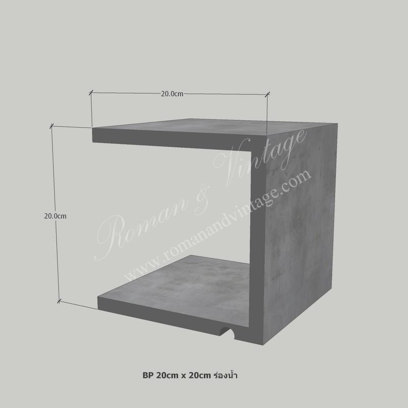 บัวปูนปั้น แบบโมเดิร์น บัวปูนปั้น แบบโมเดิร์น                    BP 20cm x 20cm