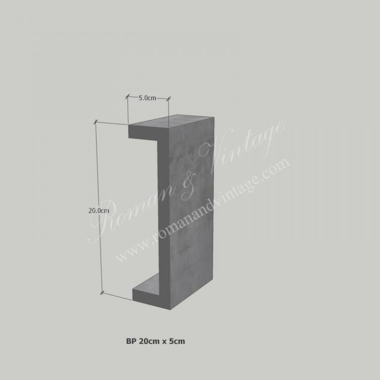 บัวปูนปั้น แบบโมเดิร์น บัวปูนปั้น แบบโมเดิร์น                    BP 20cm x 5cm 768x768