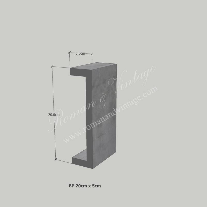 บัวปูนปั้น แบบโมเดิร์น บัวปูนปั้น แบบโมเดิร์น                    BP 20cm x 5cm