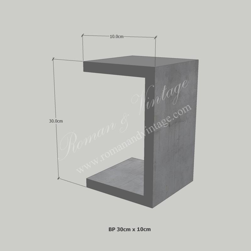 บัวปูนปั้น แบบโมเดิร์น บัวปูนปั้น แบบโมเดิร์น                    BP 30cm x 10cm