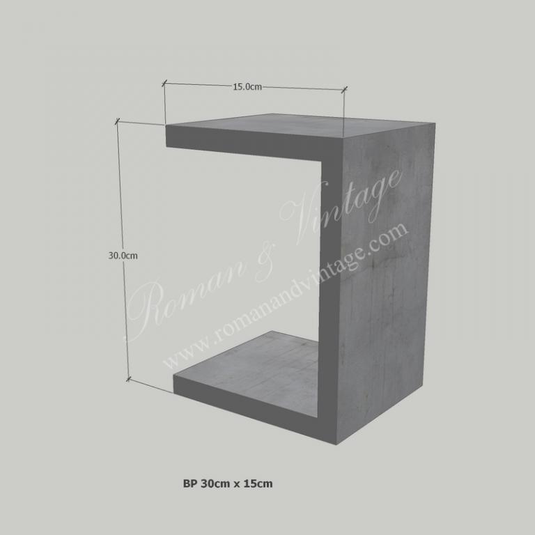บัวปูนปั้น แบบโมเดิร์น บัวปูนปั้น แบบโมเดิร์น                    BP 30cm x 15cm 768x768