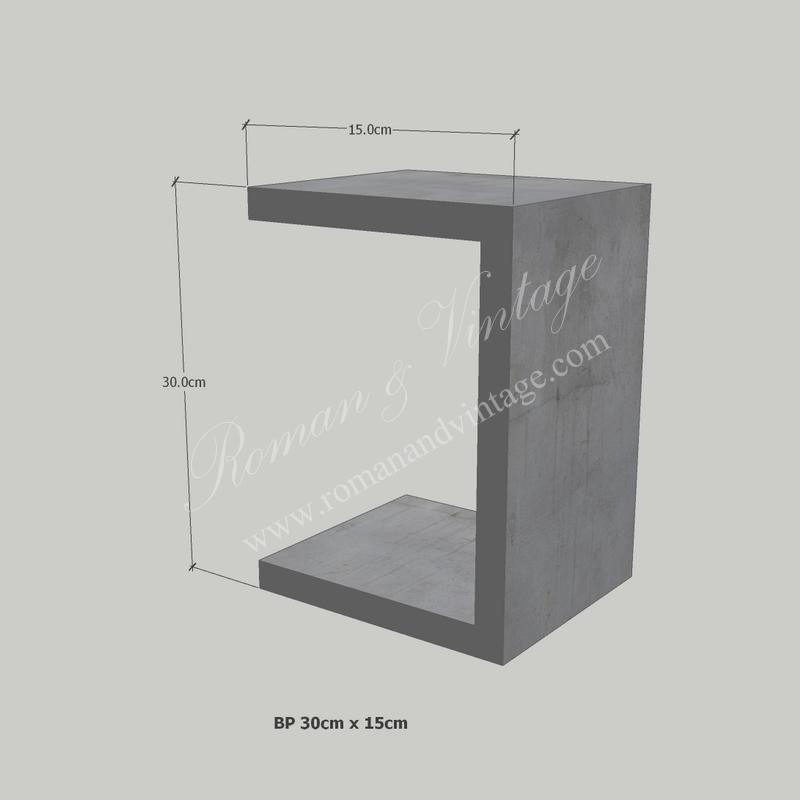 บัวปูนปั้น แบบโมเดิร์น บัวปูนปั้น แบบโมเดิร์น                    BP 30cm x 15cm