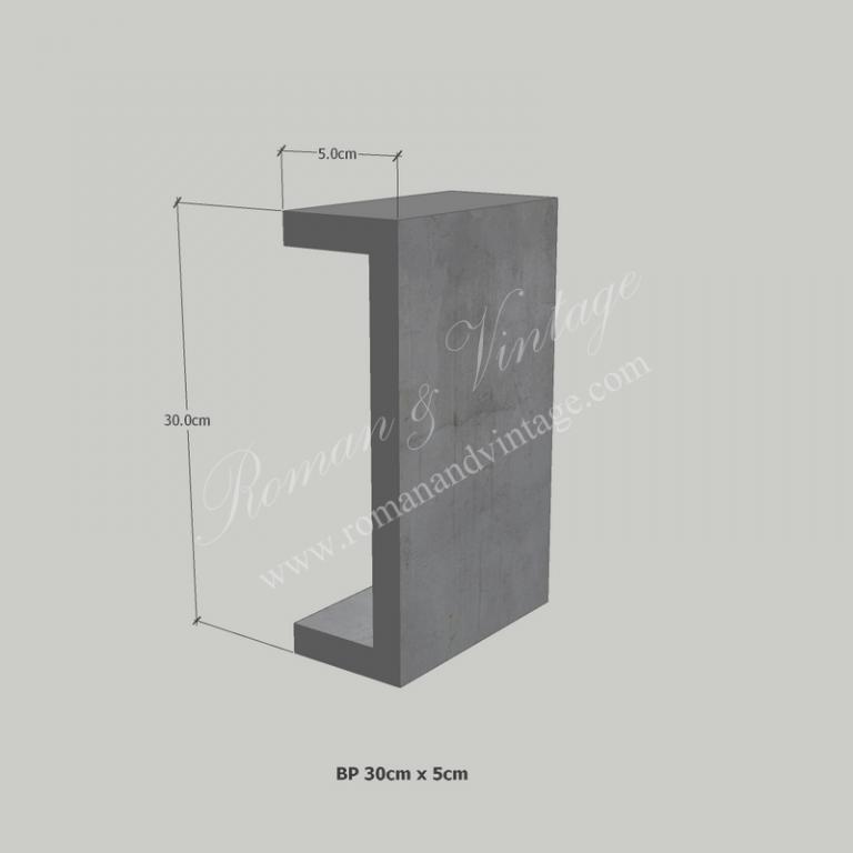 บัวปูนปั้น แบบโมเดิร์น บัวปูนปั้น แบบโมเดิร์น                    BP 30cm x 5cm 768x768