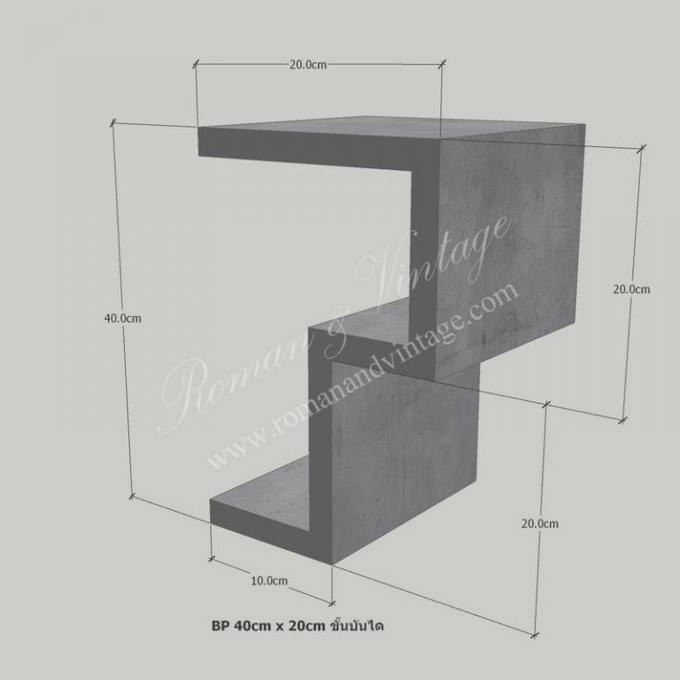 บัวปูนปั้น แบบโมเดิร์น บัวปูนปั้น แบบโมเดิร์น                    BP 40cm x 20cm                             768x768