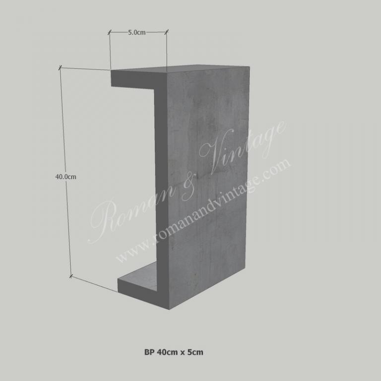 บัวปูนปั้น แบบโมเดิร์น บัวปูนปั้น แบบโมเดิร์น                    BP 40cm x 5cm 768x768