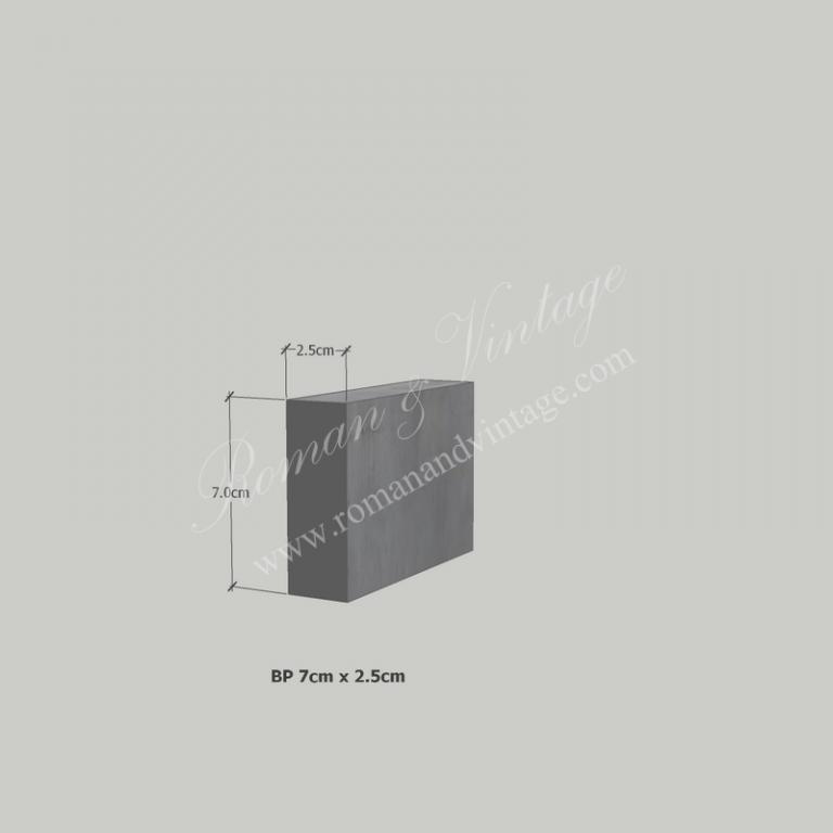 บัวปูนปั้น แบบโมเดิร์น บัวปูนปั้น แบบโมเดิร์น                    BP 7cm x 2