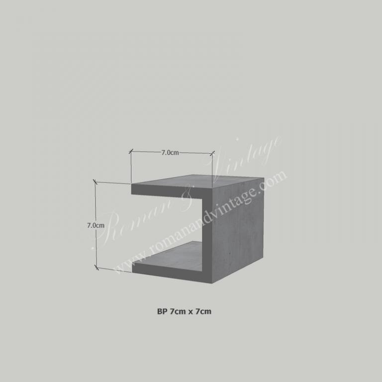บัวปูนปั้น แบบโมเดิร์น บัวปูนปั้น แบบโมเดิร์น                    BP 7cm x 7cm 768x768