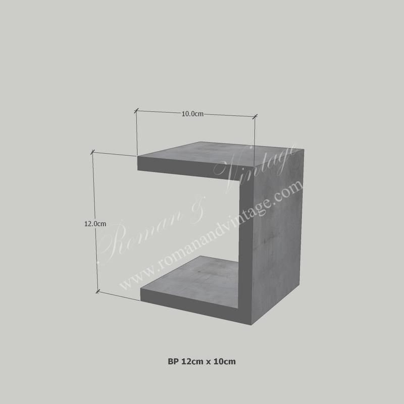 บัวปูนปั้น แบบโมเดิร์น บัวปูนปั้น แบบโมเดิร์น                    EP 12cm x 10cm